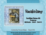 Snowflake Bentley - Vocabulary