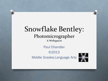 Snowflake Bentley Webquest