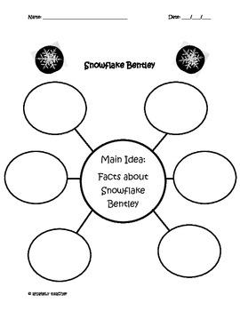 Snowflake Bentley Writing Packet