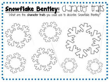 Snowflake Bentley by Jacqueline Briggs Martin: Activity Pack for Grades 2-4