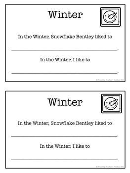 Snowflake Bentley by Jacqueline Briggs Martin – Activity Packet