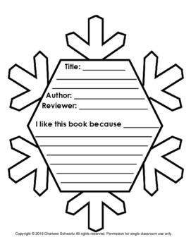 Snowflake Book Report