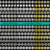 Snowflake Border Patterns Clipart