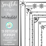 Snowflake Borders by Kelly B
