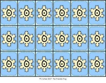 Snowflake Brag Tags