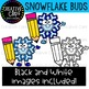 Snowflake Buds: Winter Clipart {Creative Clips Clipart}