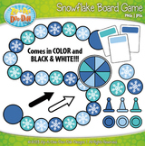 Snowflake Build A Board Game Clipart {Zip-A-Dee-Doo-Dah Designs}
