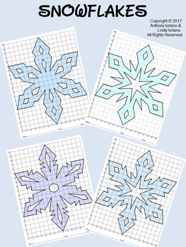 Snowflake Bundle Mystery Pictures (16 x 20 Grid)