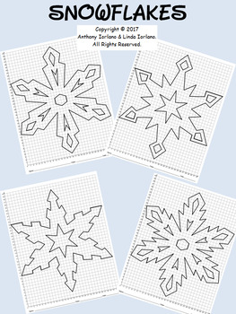 Snowflake Bundle Mystery Pictures (32 x 40 Grid)