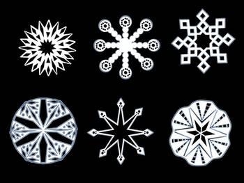 Snowflake CLIP ART