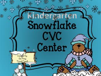 Snowflake Literacy Center FREEBIE