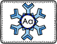 Snowflake CVC Words and Pictures for Games and Activities