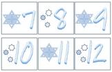Snowflake Calendar Numbers