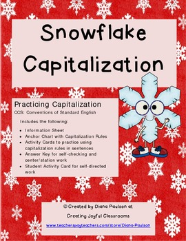 Snowflake Capitalization