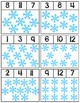 Snowflake Clip Cards | Numbers 1-12