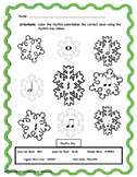 Winter Snowflake Color By Rhythm Bundle!