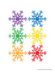 Snowflakes Activities | Color Sort Activity | Preschool Winter Activities