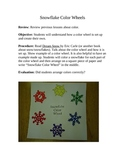 Snowflake Color Wheel