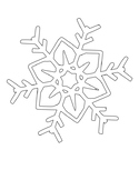 Snowflake Coloring Sheets