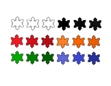Snowflake Colors Freebie