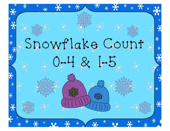 Snowflake Count 1-5