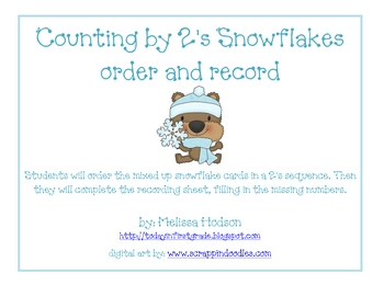 Snowflake Count By 2's: Order and Record