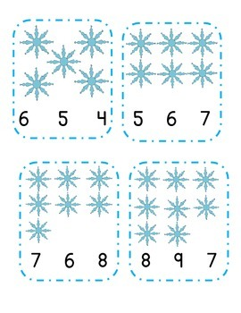 Snowflake Count and Clip
