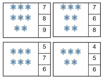 Snowflake Count and Clips