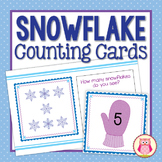 Snowflake Counting Cards