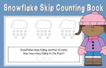 Snowflake Skip Counting by 10's