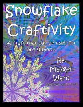 Snowflake Craftivity