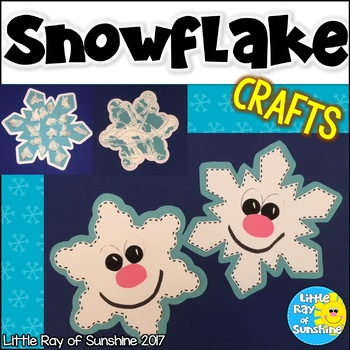 Snowflake Crafts for Winter & January