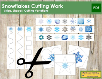 Snowflake Cutting Strips