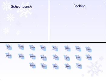 Snowflake Daily Attendance and Lunch Count