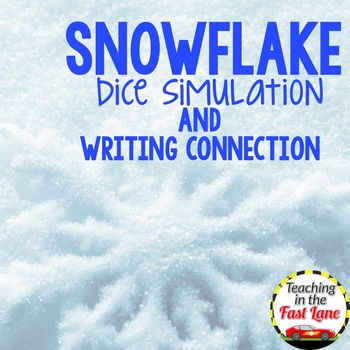 Snowflake Dice Simulation with Writing Connection