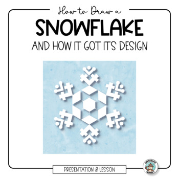 Snowflake Activity: Drawing using the Science, Art and Mat