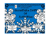 Kindness-Snowflake Drift of Activities - Kiddos Connect All-Year to Kindness
