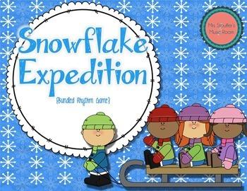 Snowflake Expedition {Bundled Rhythm Game}