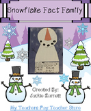 Snowflake Fact Family CCSS aligned