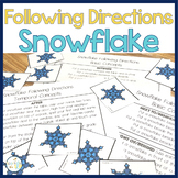 Snowflake Following Directions PLUS