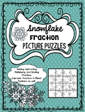 Snowflake Fraction Puzzles