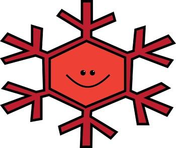 Snowflake Friends Clipart