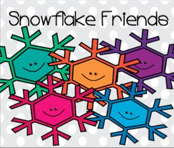 Snowflake Friends Clipart