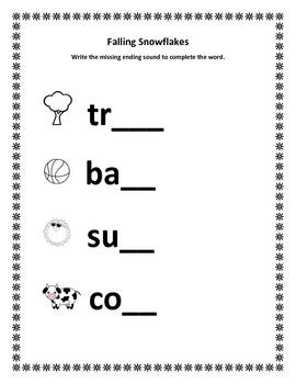Snowflake Fun Literacy Activities
