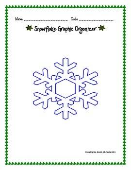 Snowflake Graphic Organizer