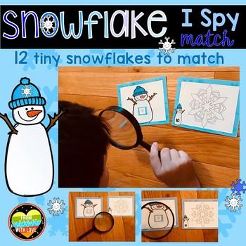 Snowflake I-Spy Center