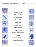 Snowflake Identification Worksheet