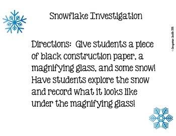 Snowflake Investigation
