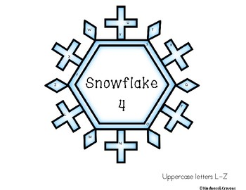 Snowflake Letter Search