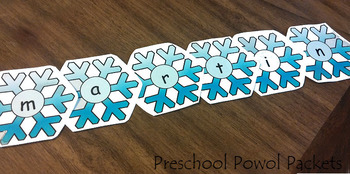 Snowflake Letters!